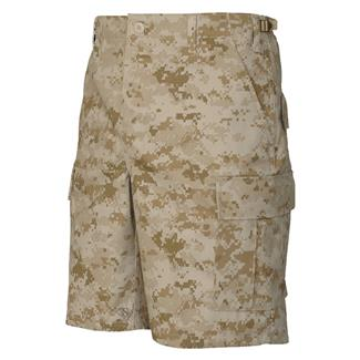 TRU-SPEC Poly / Cotton Twill BDU Shorts (Zip Fly) Desert Digital