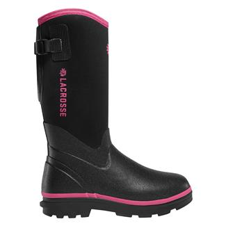 """LaCrosse 12"""" Alpha Range 5.0MM WP Black / Pink"""