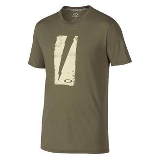 Oakley Charlie Don't Surf T-Shirt Worn Olive