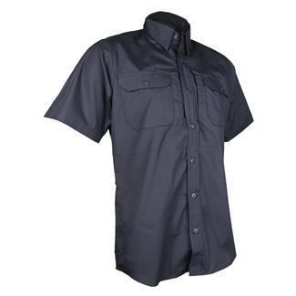 24-7 Series Short Sleeve Dress Shirt Black