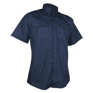 24-7 Series Short Sleeve Dress Shirt Navy