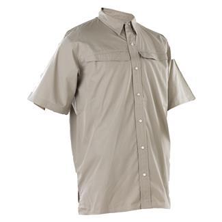 24-7 Series Short Sleeve Pinnacle Shirt Khaki