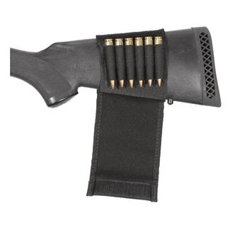 Blackhawk Butt Stock Shell Holder w/ Flap Black