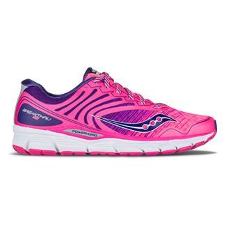 Saucony Breakthru 2 Pink / Navy