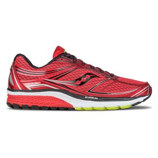 Saucony Guide 9 Red / Black / Silver