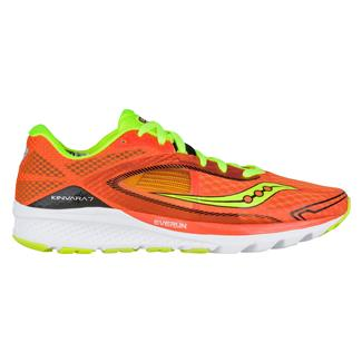 Saucony Kinvara 7 Orange / Citron / Black