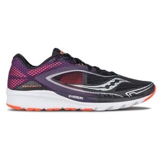 Saucony Kinvara 7 Black / Purple / Orange