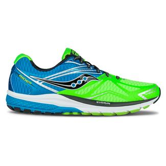 Saucony Ride 9 Slime / Blue / Black