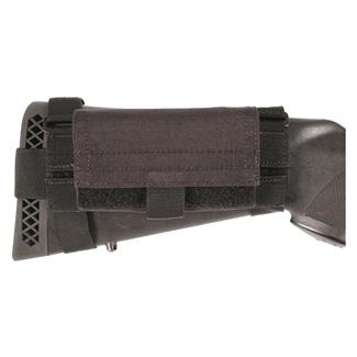 Blackhawk Buttstock Shotgun Shell Pouch Black