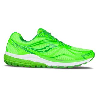 Saucony RunPops Ride 9 Toe The Lime