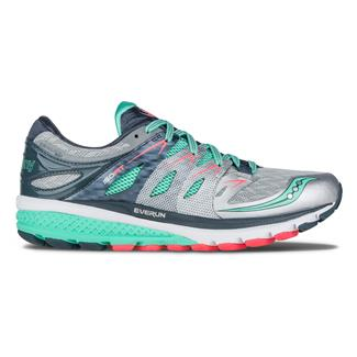 Saucony Zealot Iso 2 Silver / Mint / Coral