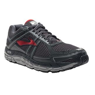 Brooks Addiction 12 Anthracite / High Risk Red / Silver
