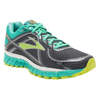 Brooks Adrenaline GTS 16 Anthracite / Aqua Green / Lime Punch
