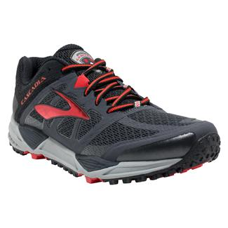 Brooks Cascadia 11 Anthracite / Black / High Risk Red