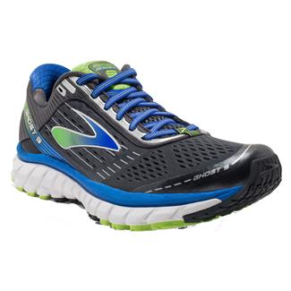 Brooks Ghost 9 Anthracite / Electric Brooks Blue / Lime Punch