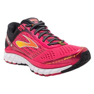 Brooks Ghost 9 Azalea / Black / Cyber Yellow