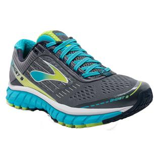 Brooks Ghost 9 Silver / Blue Atoll / Lime Punch