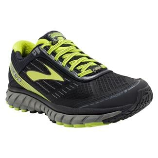 Brooks Ghost 9 GTX Black / Castlerock / Lime Punch