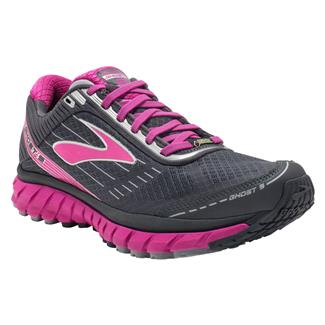 Brooks Ghost 9 GTX Anthracite / Festival Fuchsia / Silver