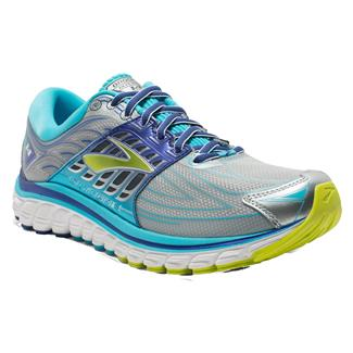 Brooks Glycerin 14 Silver / Blue Atoll / Lime Punch