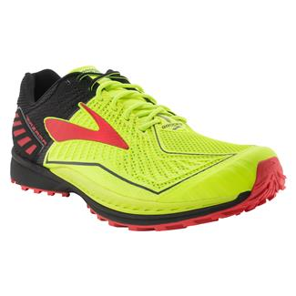 Brooks Mazama Nightlife / Black / High Risk Red