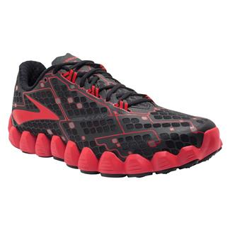 Brooks Neuro Black / High Risk Red