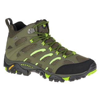 Merrell Moab Mid WP Dusty Olive / Black
