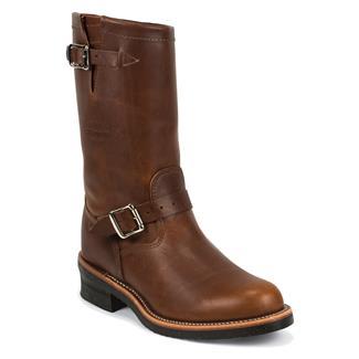 "Chippewa Boots 11"" Original Engineers Tan Renegade"