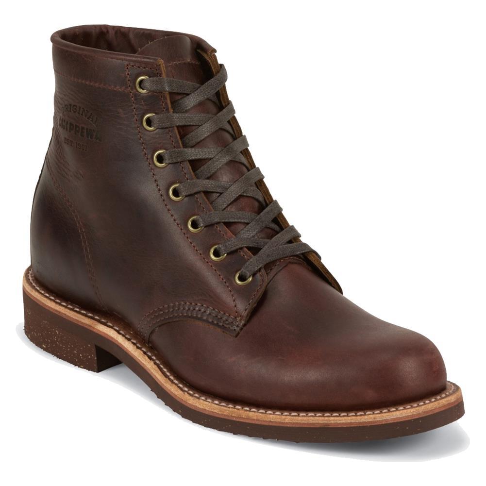Mens Chippewa Boots 6 Original General Utility