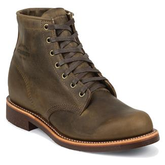 "Chippewa Boots 6"" Original General Utility Crazy Horse"