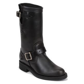 "Chippewa Boots 11"" Original Engineers Black Whirlwind"