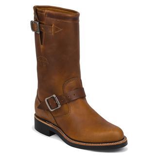 "Chippewa Boots 11"" Original Engineers Cordovan"