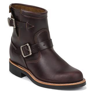 "Chippewa Boots 7"" Original Engineers Cordovan"