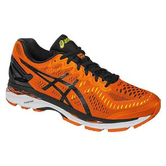 ASICS GEL-Kayano 23 Flame Orange / Black / Safety Yellow