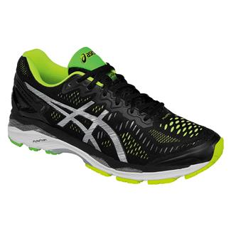 ASICS GEL-Kayano 23 Black / Silver / Safety Yellow