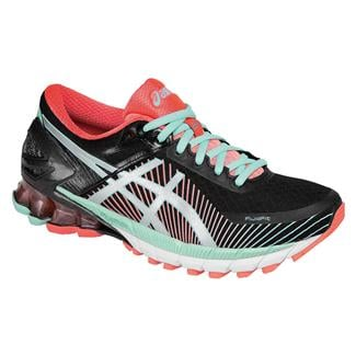 ASICS GEL-Kinsei 6 Black / Silver / Flash Coral