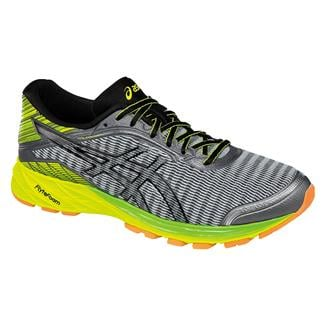 ASICS DynaFlyte Midgrey / Black / Safety Yellow