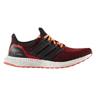 Adidas Ultra Boost Black / Solar Red