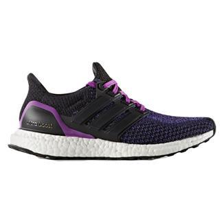 Adidas Ultra Boost Black / Shock Purple