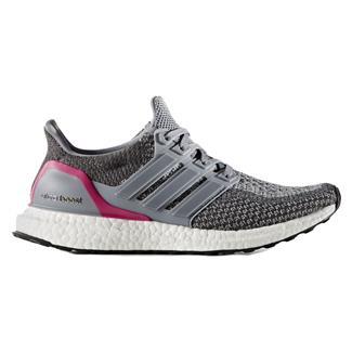 Adidas Ultra Boost Gray / Shock Pink