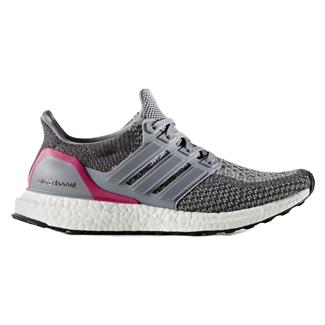 Adidas Ultra Boost Gray / Shock Pink