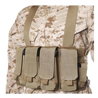 Blackhawk Chest Pouches Coyote Tan