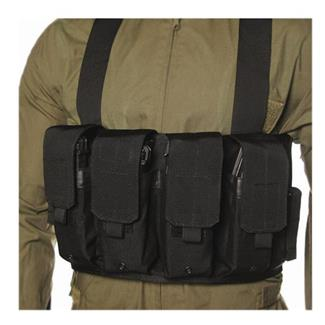 Blackhawk Chest Pouches Black