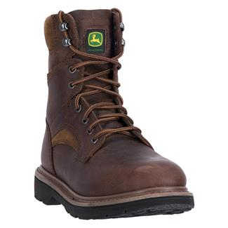 "John Deere 8"" All Around Whiskey Amarillo Gaucho Brown"