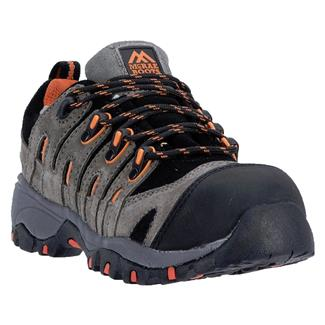 McRae Industrial Low Cut Athletic Shoe CT Gray / Orange