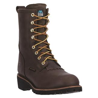 "McRae Industrial 8"" Logger WP ST Dark Brown"