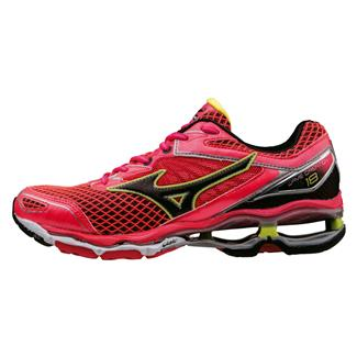 Mizuno Wave Creation 18 Diva Pink / Black / Safety Yellow