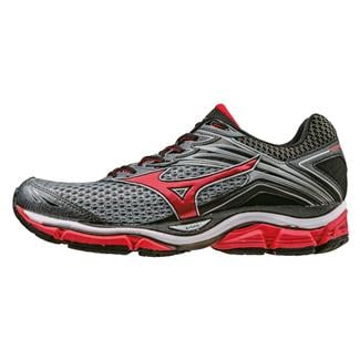 Mizuno Wave Enigma 6 Quarry / High Risk Red / Black
