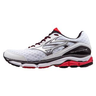 Mizuno Wave Inspire 12 White / High Risk Red / Black