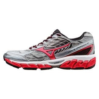Mizuno Wave Paradox 3 Quarry / High Risk Red / Black